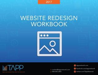 Tapp Network - Nonprofit Website Redesign Workbook